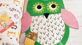 Tapete de coruja: 40 ideias e como fazer passo-a-passo
