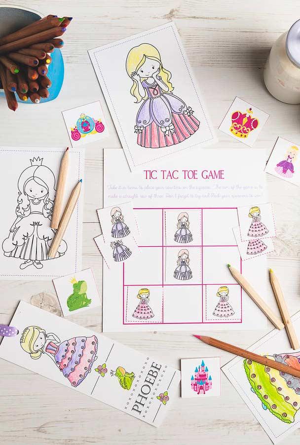 Jogos e atividades para festa princesa