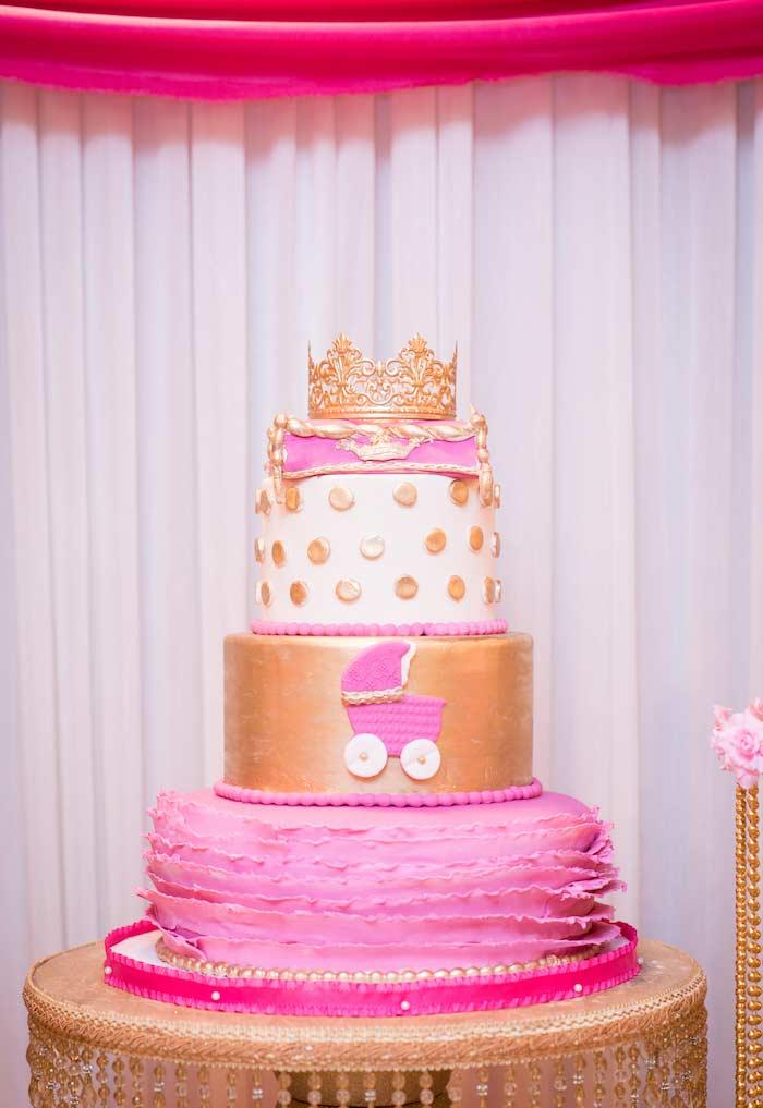 Bolo da festa Princesa luxuoso