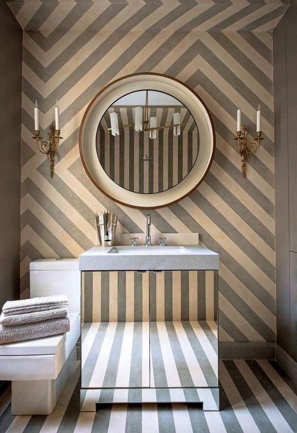 Armário de banheiro espelhado