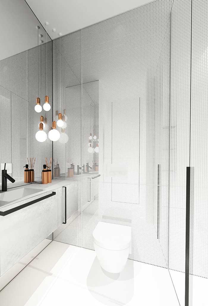 Armário de banheiro com maxi alças
