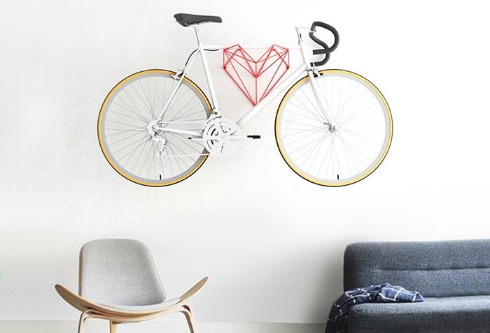 Bicicleta para pendurar