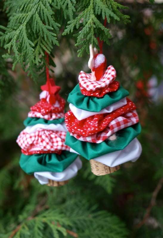 Como fazer fuxico: para decorar a árvore de Natal
