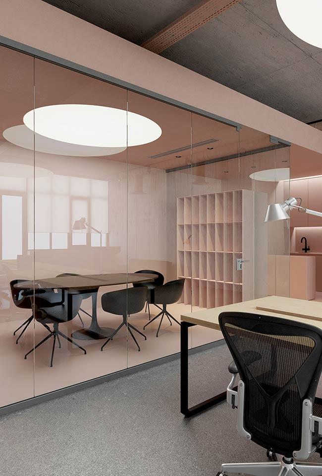 Rosa tumblr para ambientes de trabalho