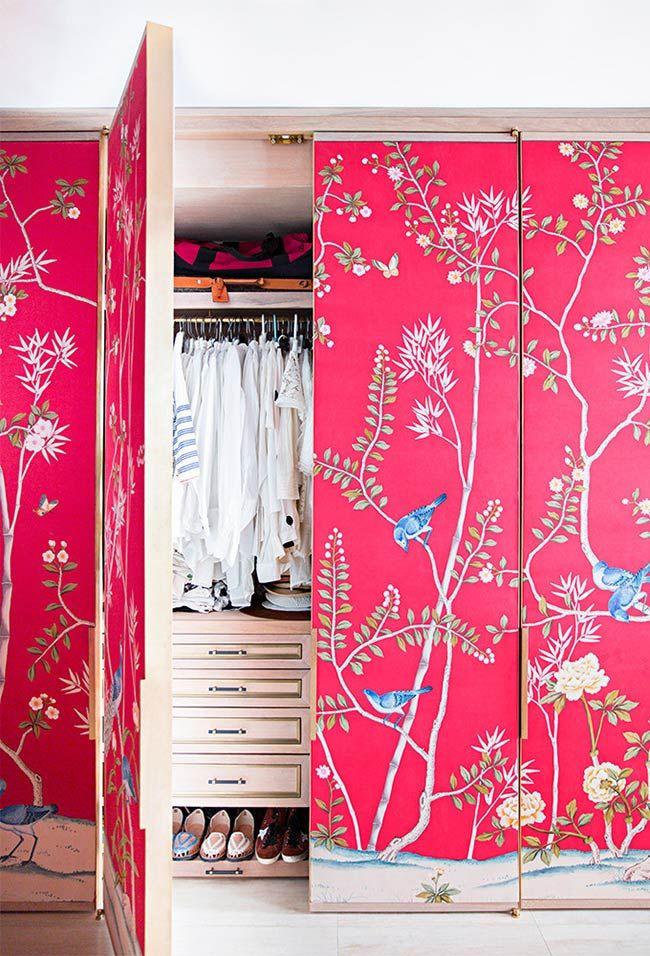 Rosa no fundo do papel de parede
