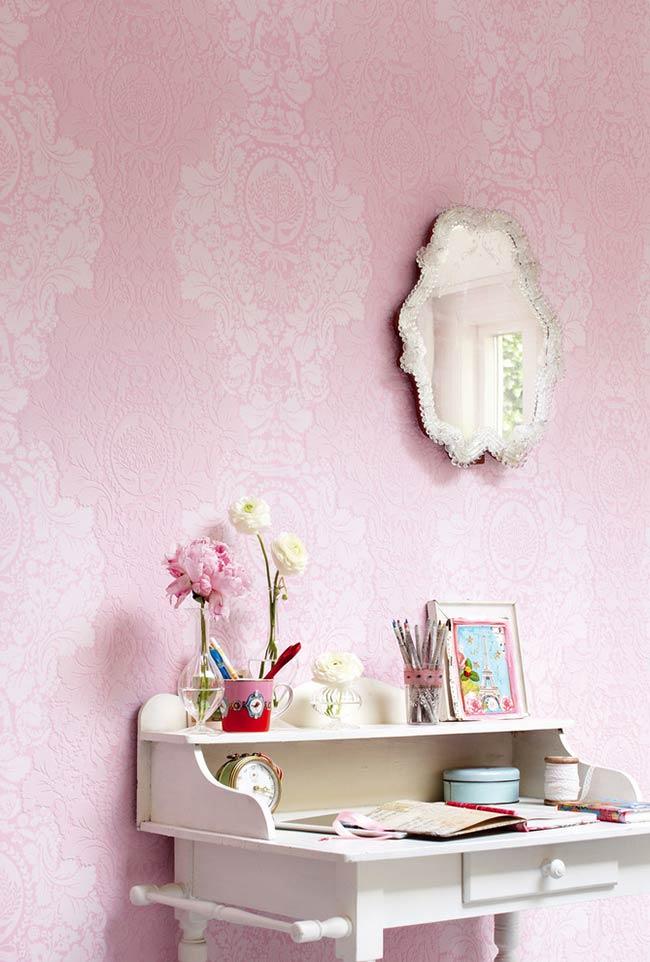 Papel de parede ornamentado clássico