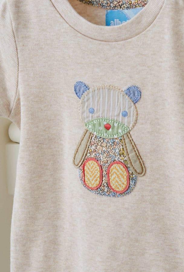 Malha infantil com patchwork