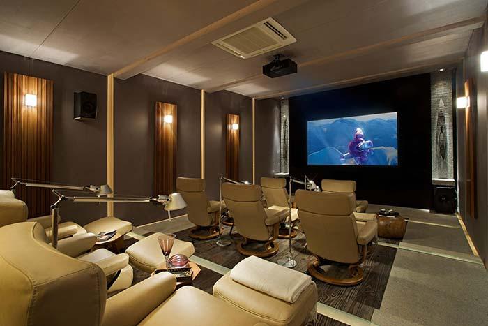 Cinema de verdade em casa