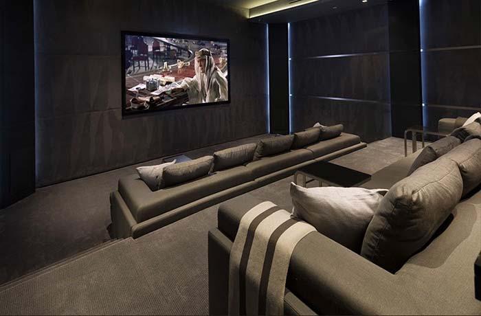 Cinema sóbrio e moderno