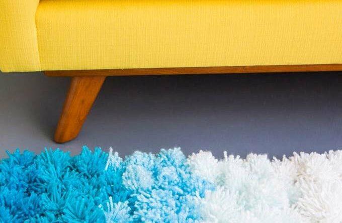 Como fazer tapete de pompom: passo-a-passo + 40 fotos