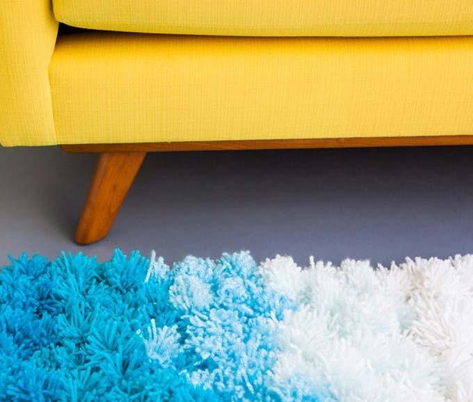 Como fazer tapete de pompom: passo a passo + 40 fotos