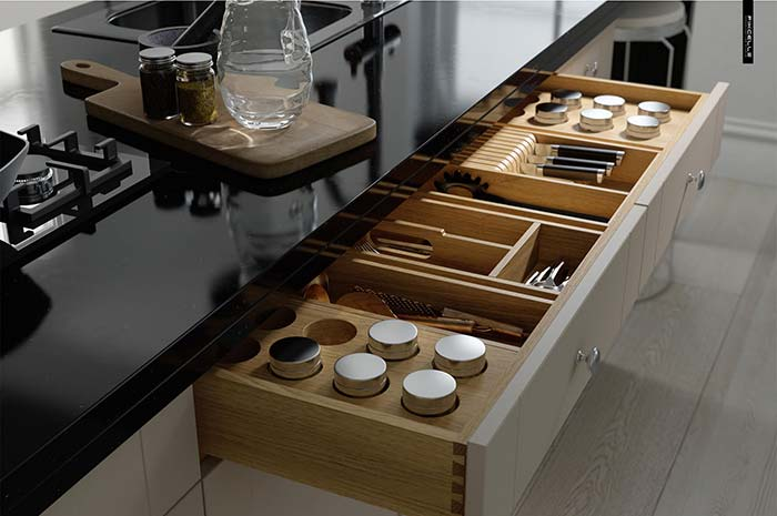 Design e funcionalidade na cozinha planejada