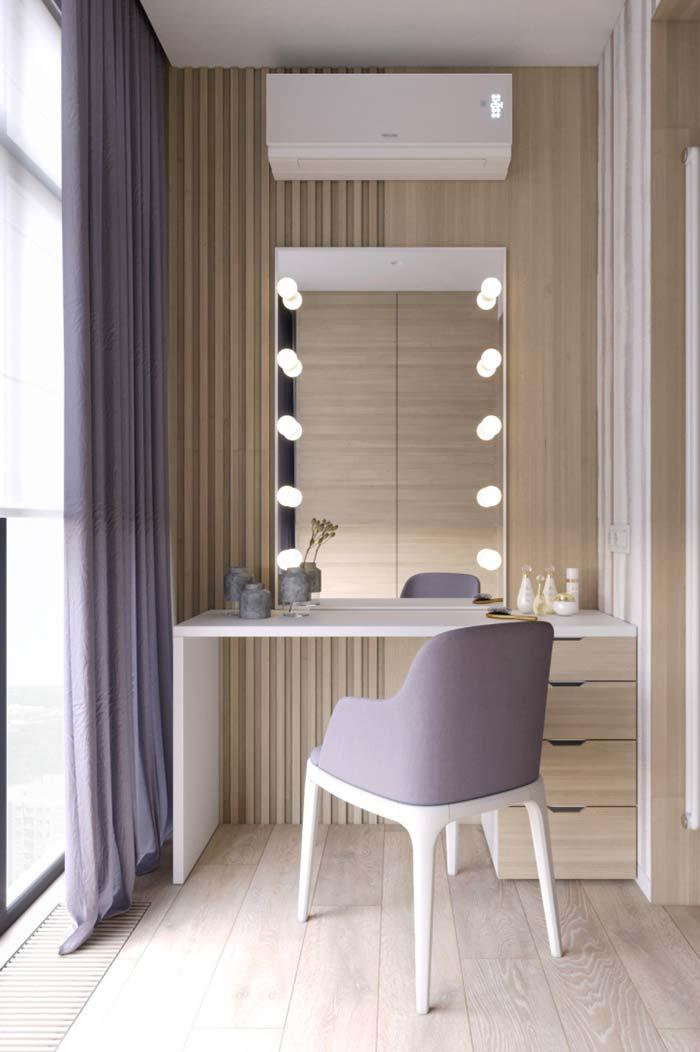 A volta do lilás também para a decoração de cômodos