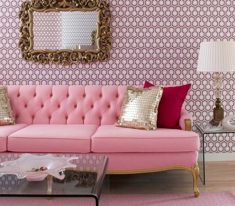 Tons de rosa na decoração: 85 ideias e dicas perfeitas