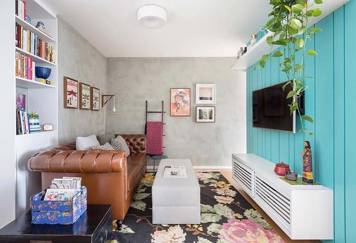 Decoração de sala pequena para todos os estilos