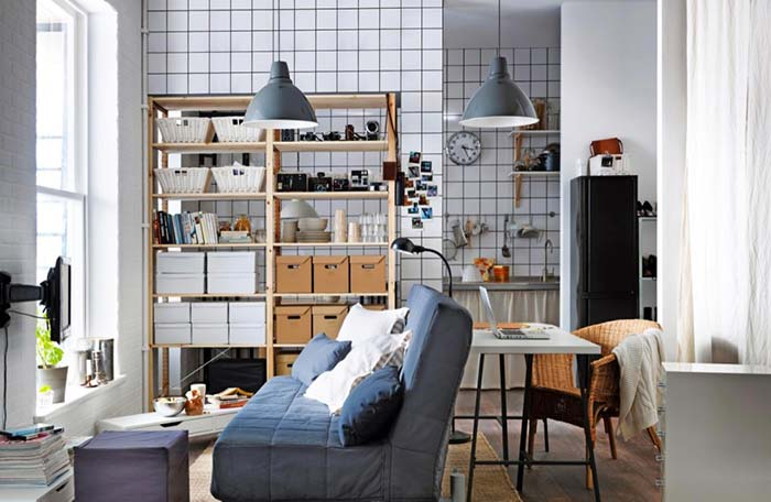 Vários ambientes, uma única decoração