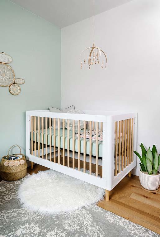 Cores no quarto de bebê