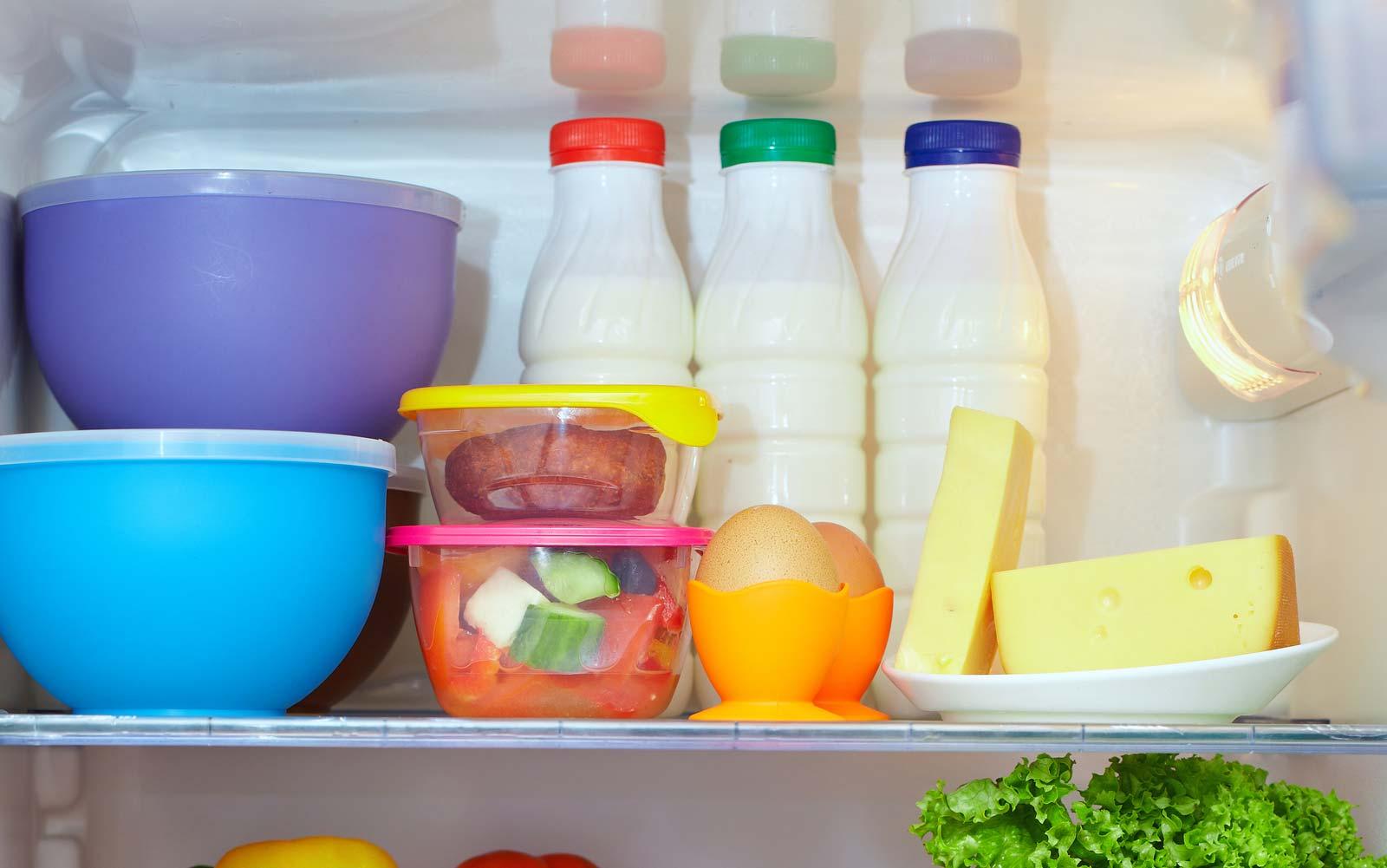 Como organizar geladeira: primeira prateleira