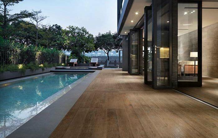 Porcelanato madeira: piso que imita o material com muito charme