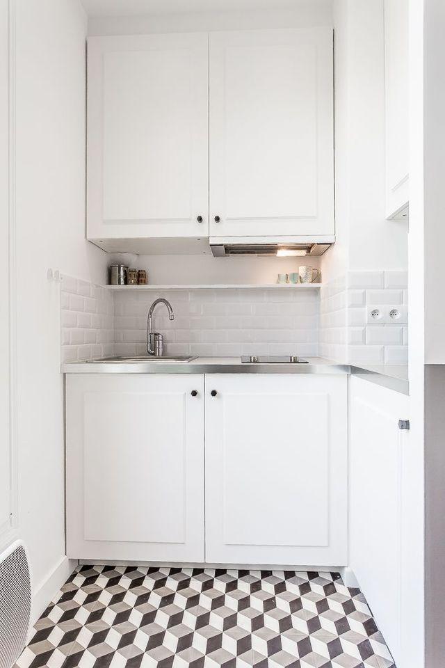 Cozinha planejada com depurador fixo