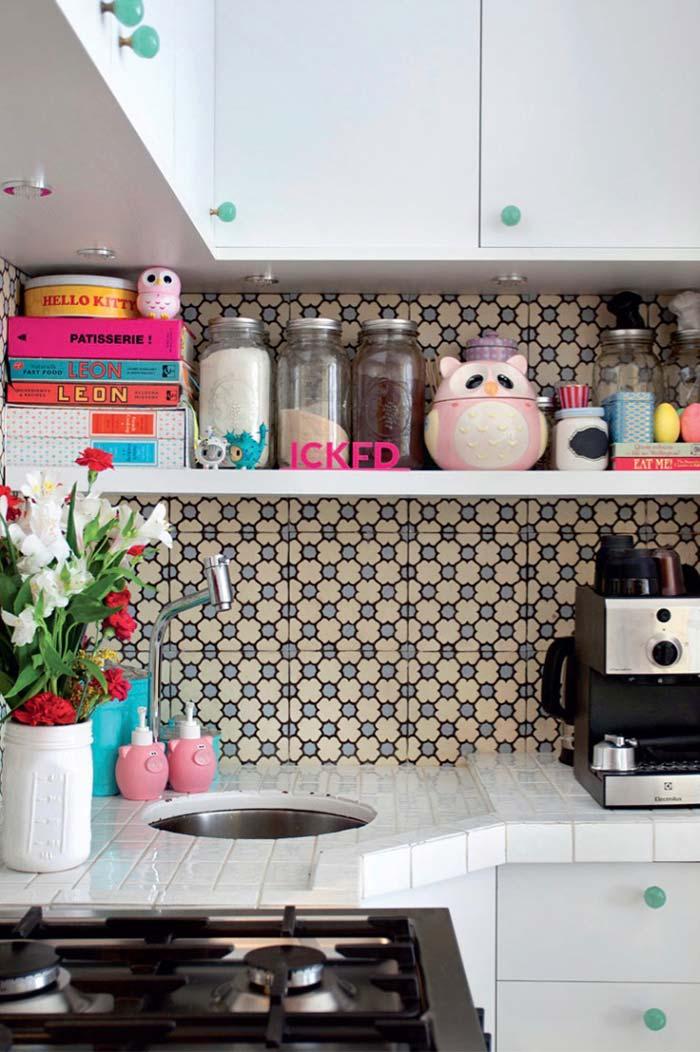 Cozinha planejada pequena de canto