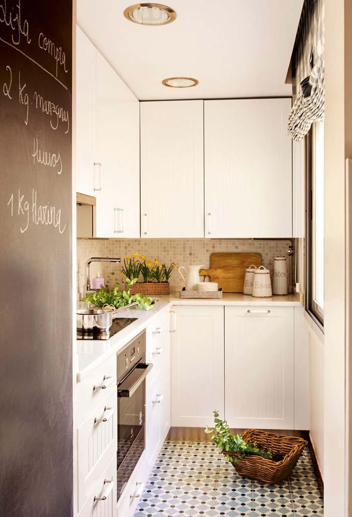 Cozinha com um toque de simplicidade