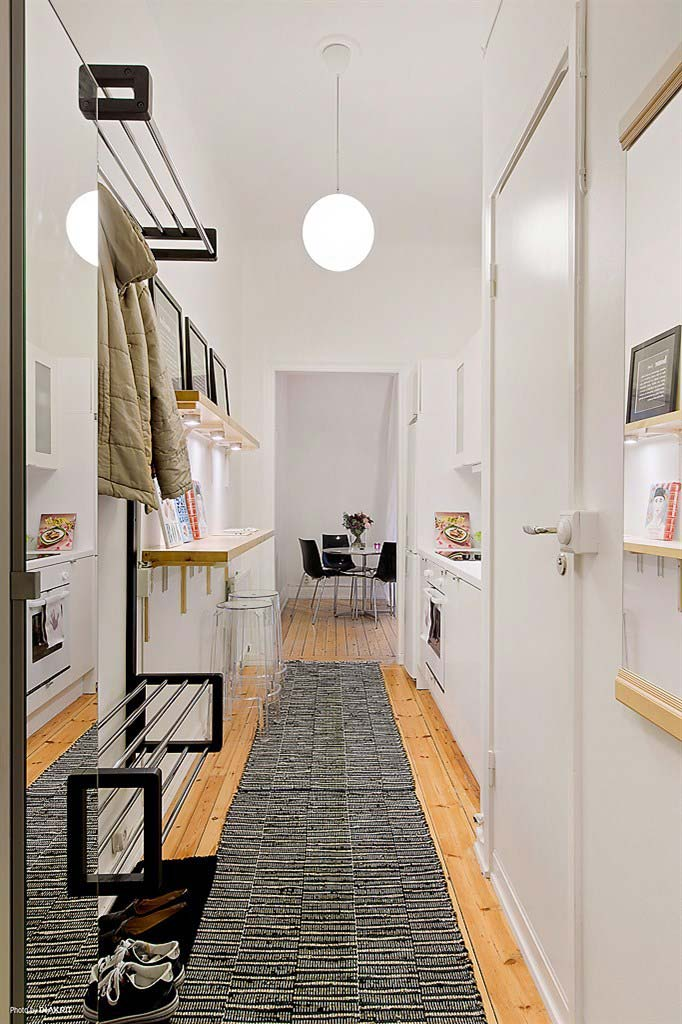 Cozinha planejada com estilo corredor