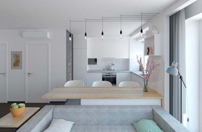 Cozinha planejada pequena para apartamento