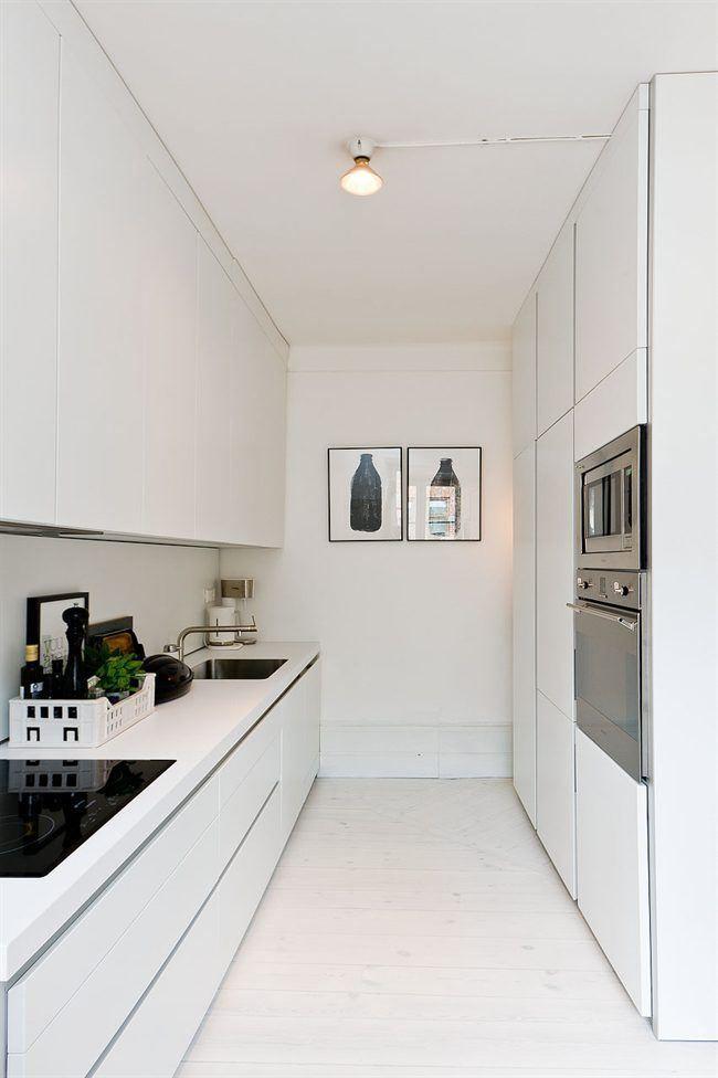 Cozinha planejada pequena com torre