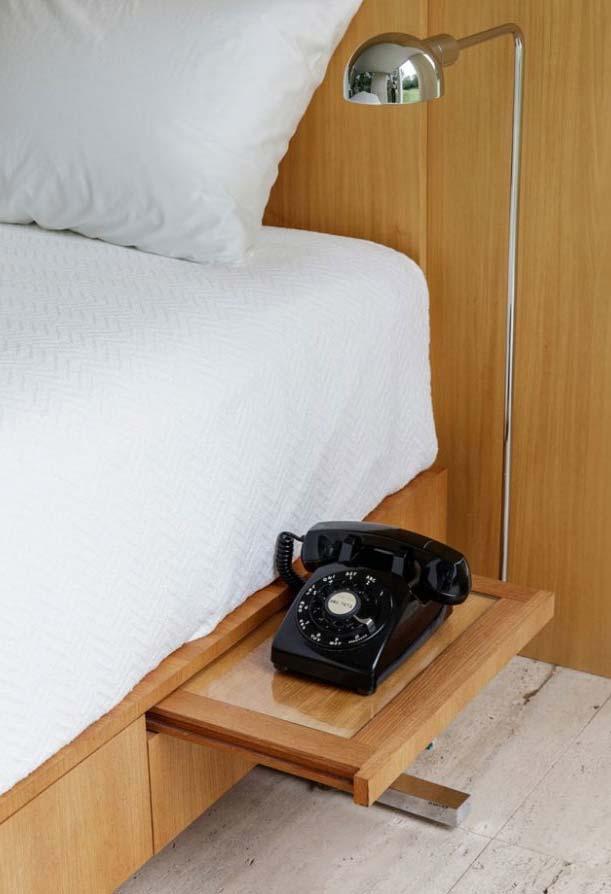 Cama planejada em quarto pequeno