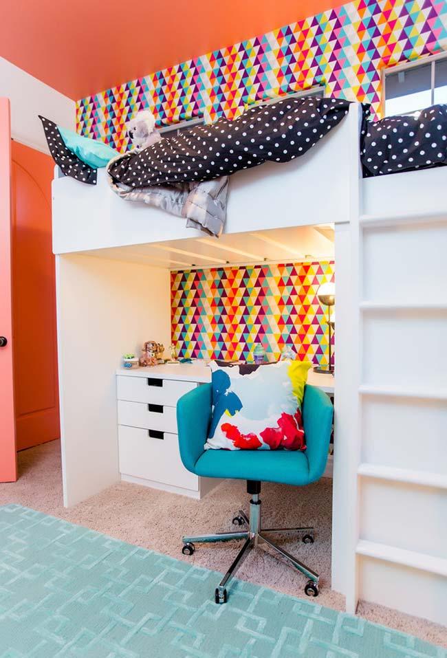 Beliche em quarto pequeno