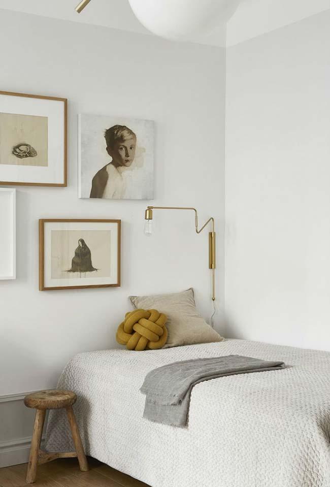 Quadros para decorar quarto pequeno