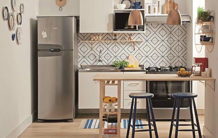 Cozinha planejada pequena: 100 modelos perfeitos para te inspirar