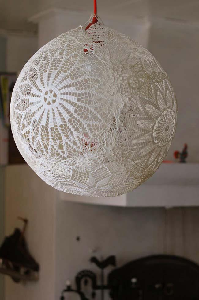 Esfera rendada