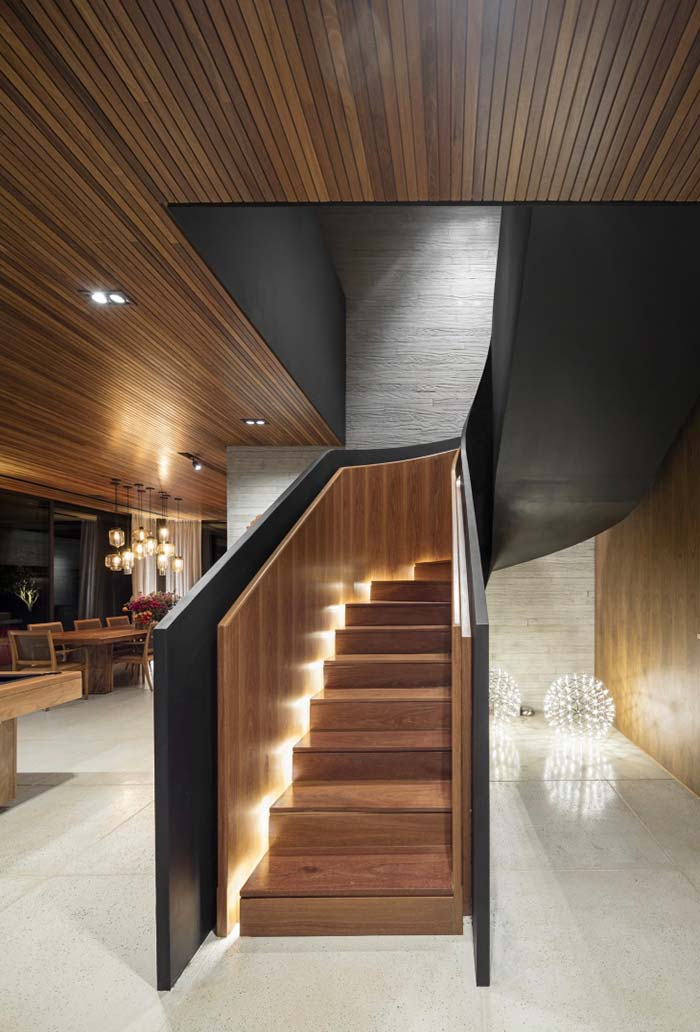 Forro de madeira para ambientes sofisticados