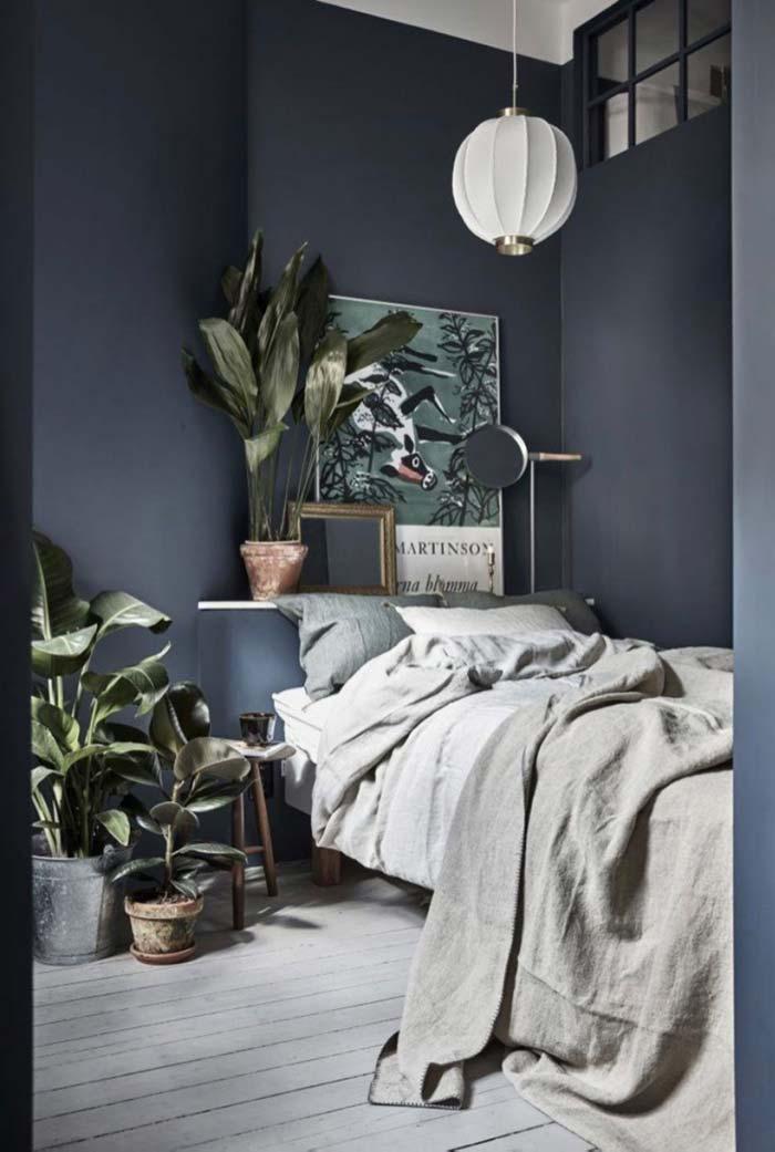 As pacovás decoram esse quarto Tumblr