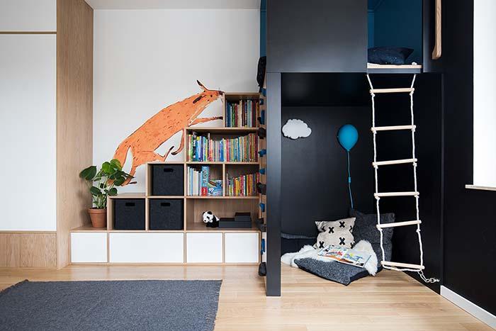 Nichos para organizar o quarto Tumblr