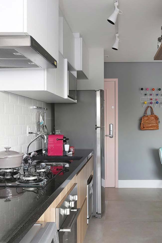 Granito São Gabriel na bancada da cozinha
