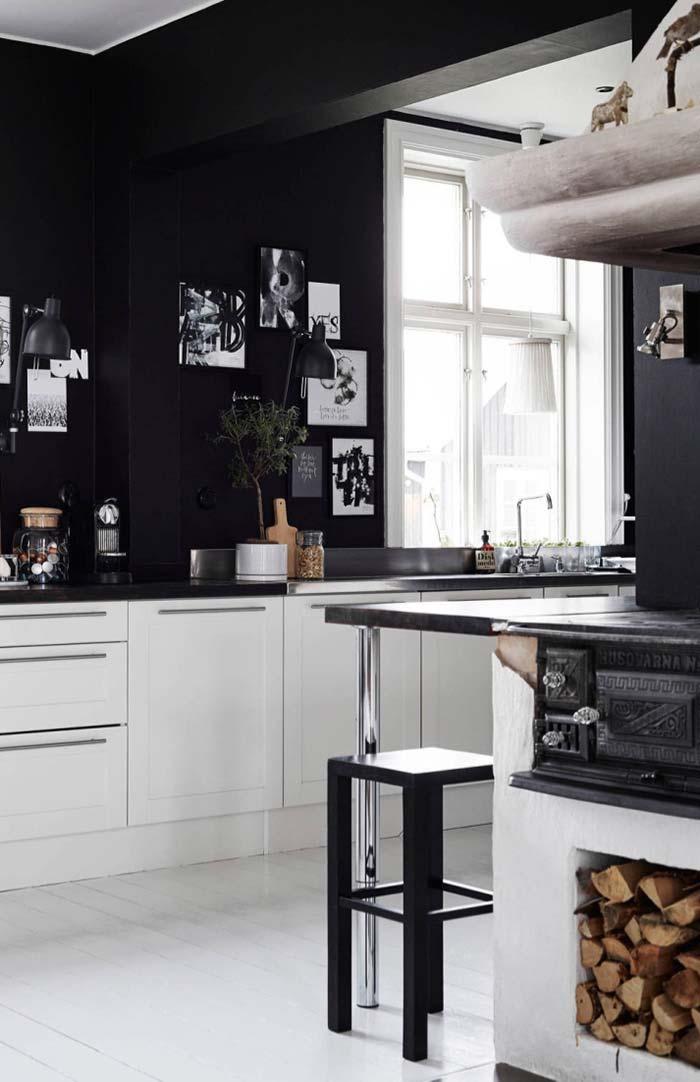 Uma cozinha de impacto