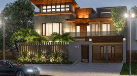Muros de casas: 60 ideias e projetos incríveis para te inspirar