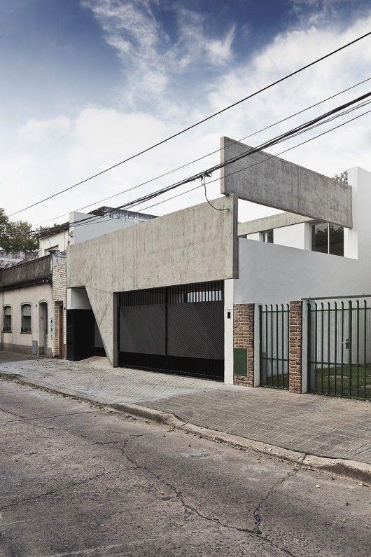 Muros de casas: muro moderno