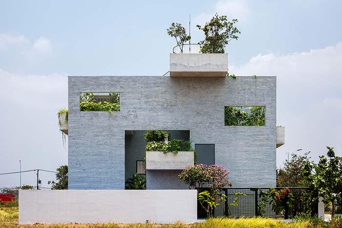Muro de casa simples