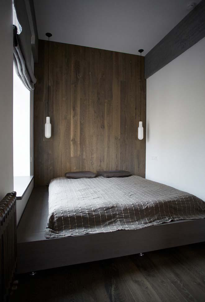 Plataforma completa mantém a unidade no ambiente e conforto para colocar seu colchão