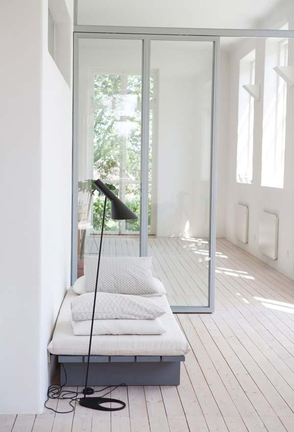 Cama japonesa simples
