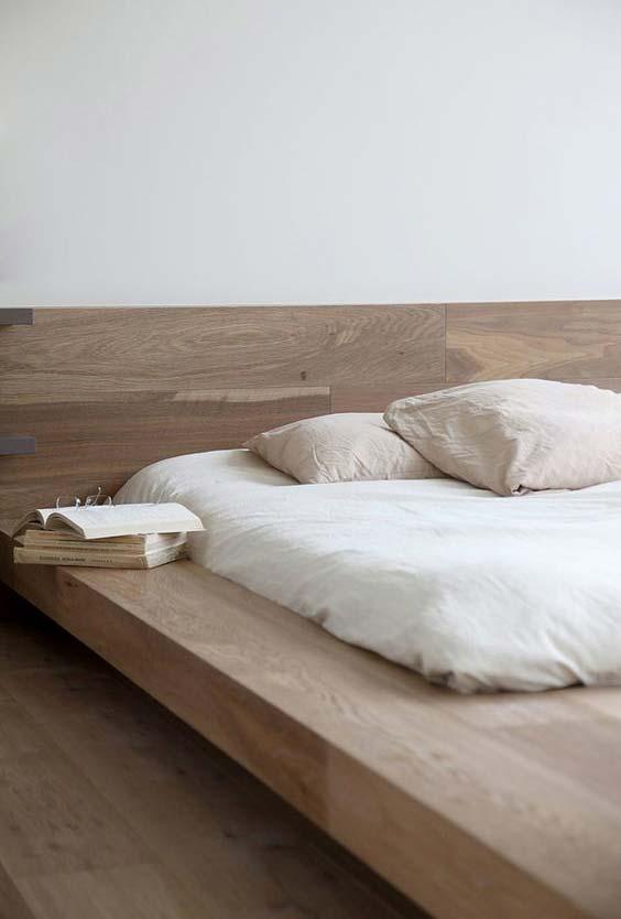 Plataforma em MDF para cama japonesa