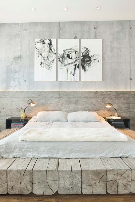 Plataforma para cama japonesa