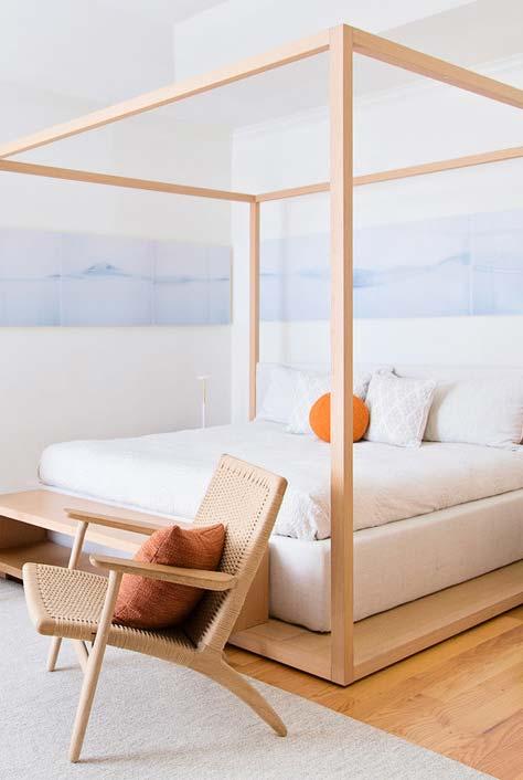 Estrutura cubo para cama japonesa