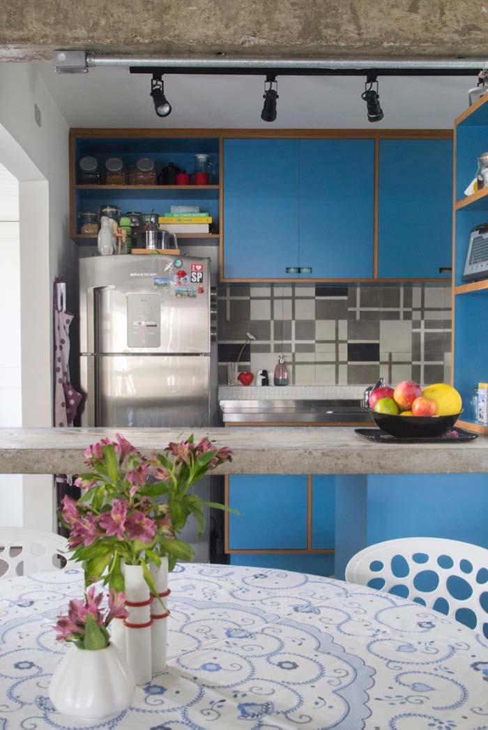 Nichos para cozinha acima da geladeira