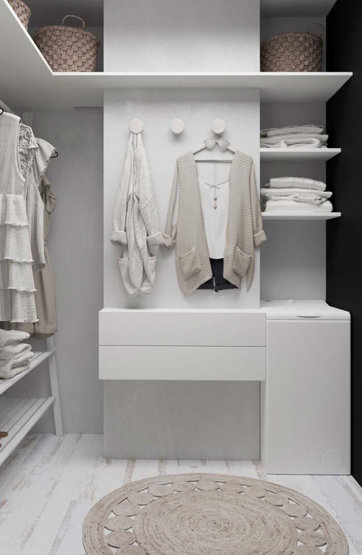 Closet todo branco