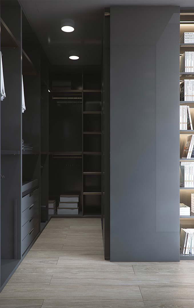 Closet masculino planejado